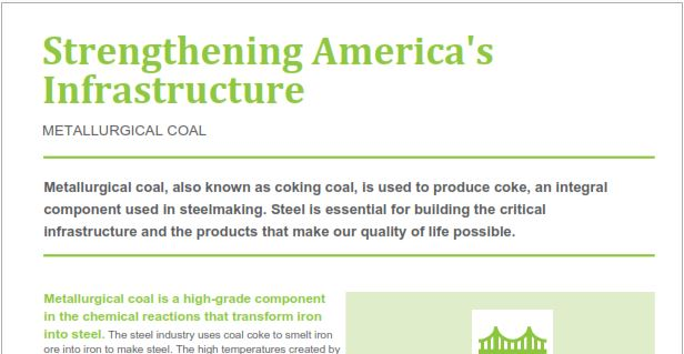 Fact Sheet Metallurgical Coal National Mining Association